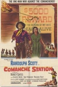 Caratula, cartel, poster o portada de Estación Comanche