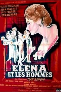 Caratula, cartel, poster o portada de Elena y los hombres