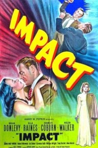 Caratula, cartel, poster o portada de Impacto
