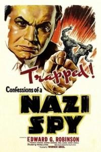 Caratula, cartel, poster o portada de Confesiones de un espía nazi