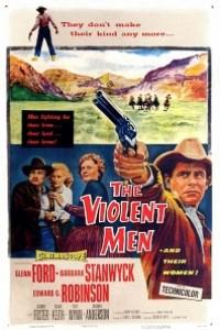 Caratula, cartel, poster o portada de Hombres violentos