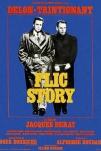 Caratula, cartel, poster o portada de Flic Story (Historia de un policía)