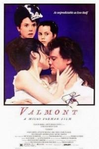 Caratula, cartel, poster o portada de Valmont