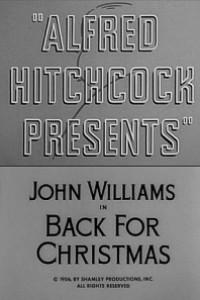 Caratula, cartel, poster o portada de Alfred Hitchcock presenta: Regreso por Navidad (Volver para Navidad)
