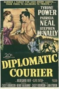 Caratula, cartel, poster o portada de Correo diplomático