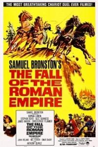 Caratula, cartel, poster o portada de La caída del imperio romano