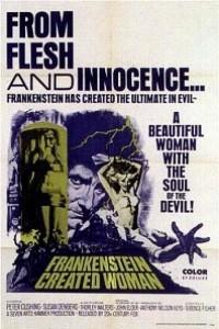 Caratula, cartel, poster o portada de Frankenstein creó a la mujer