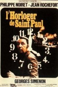 Caratula, cartel, poster o portada de El relojero de Saint-Paul