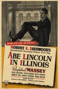 Caratula, cartel, poster o portada de Lincoln en Illinois