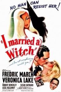 Caratula, cartel, poster o portada de Me casé con una bruja