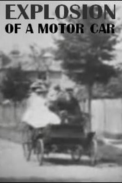 Caratula, cartel, poster o portada de Explosion of a Motor Car