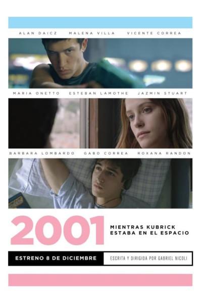 Caratula, cartel, poster o portada de 2001. Mientras Kubrick estaba en el espacio
