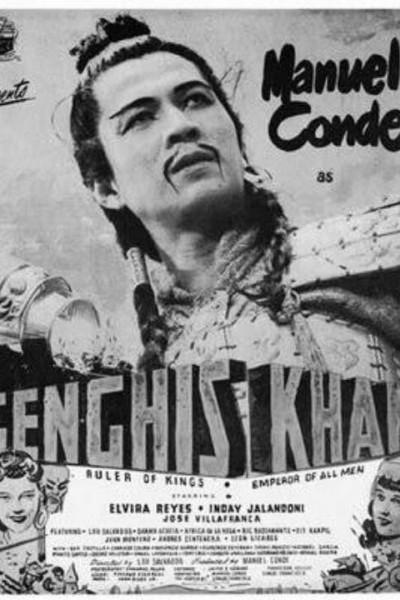 Caratula, cartel, poster o portada de Genghis Khan, el conquistador de Asia
