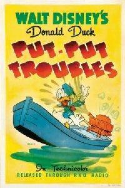 Caratula, cartel, poster o portada de Pato Donald: Problemas de motor