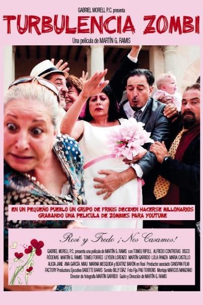 Caratula, cartel, poster o portada de Turbulencia Zombi