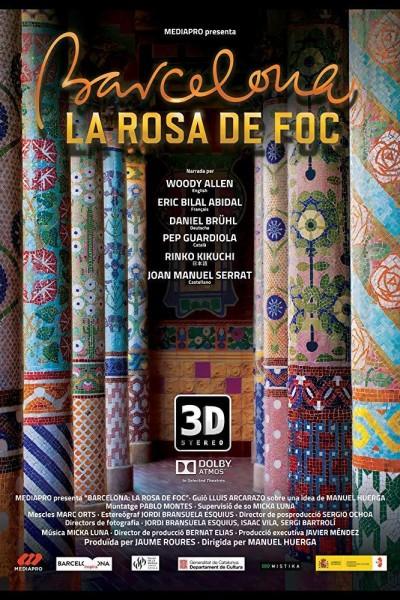 Caratula, cartel, poster o portada de Barcelona, la rosa de foc