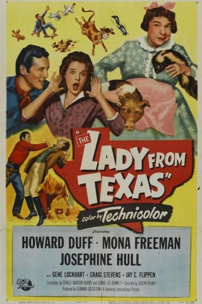 Caratula, cartel, poster o portada de The Lady from Texas