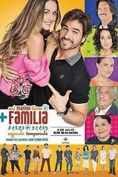 Caratula, cartel, poster o portada de Mi marido tiene más familia