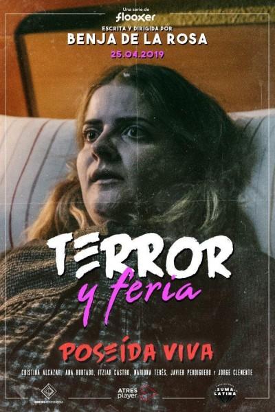 Caratula, cartel, poster o portada de Terror y feria: Poseída viva