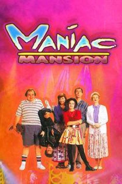 Caratula, cartel, poster o portada de Maniac Mansion