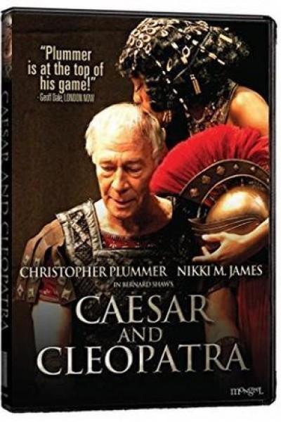 Caratula, cartel, poster o portada de César y Cleopatra