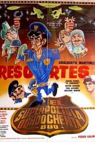 Caratula, cartel, poster o portada de El superpolicia ochoochenta \'880\'