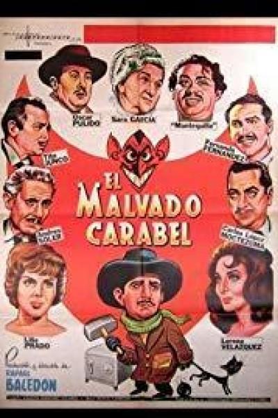 Caratula, cartel, poster o portada de El malvado Carabel