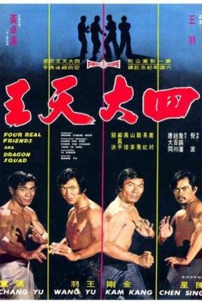 Caratula, cartel, poster o portada de El comando del dragón