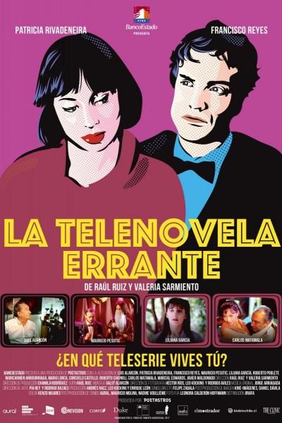 Caratula, cartel, poster o portada de La telenovela errante
