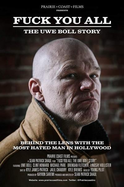 Caratula, cartel, poster o portada de F*** You All: The Uwe Boll Story