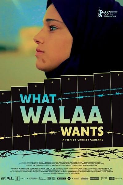 Caratula, cartel, poster o portada de What Walaa Wants