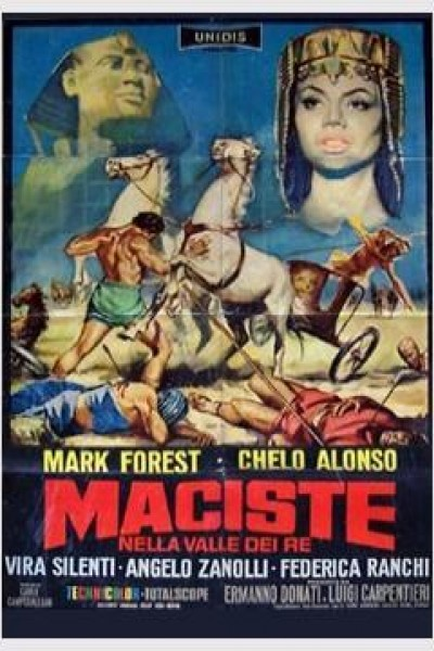 Caratula, cartel, poster o portada de Maciste: El gigante del Valle de los Reyes