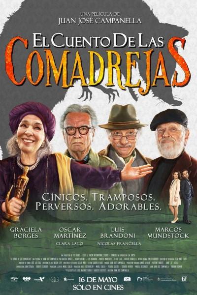 Caratula, cartel, poster o portada de El cuento de las comadrejas