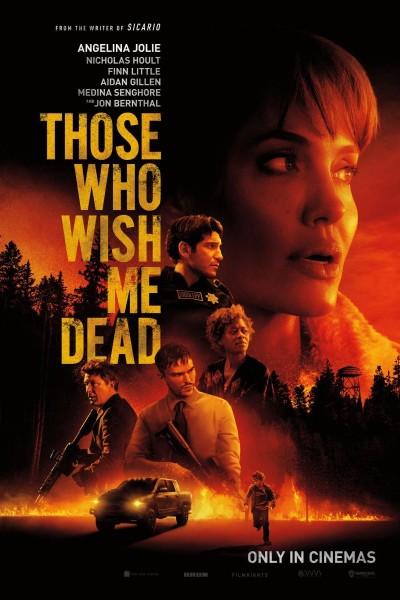 Caratula, cartel, poster o portada de Those Who Wish Me Dead