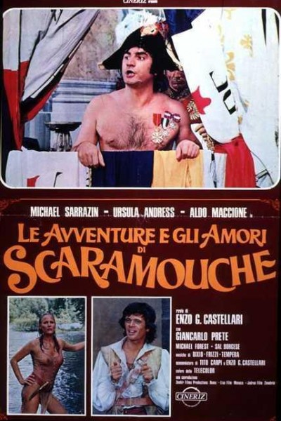 Caratula, cartel, poster o portada de Aventuras y amores de Scaramouche