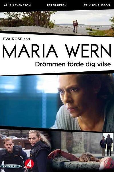 Caratula, cartel, poster o portada de Maria Wern: Drömmen förde dig vilse