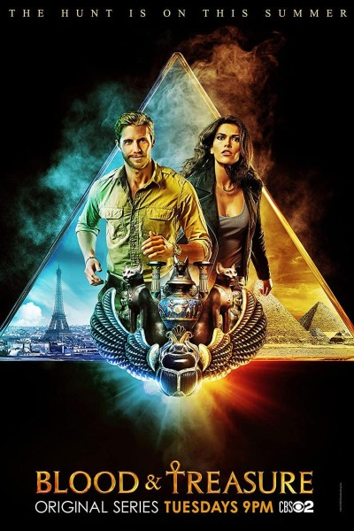 Caratula, cartel, poster o portada de Blood & Treasure