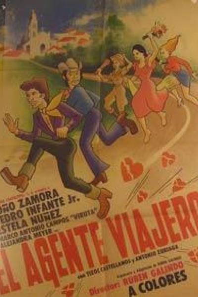 Caratula, cartel, poster o portada de El agente viajero