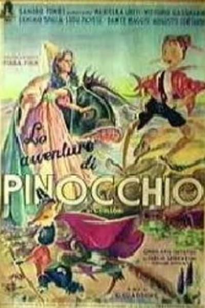 Caratula, cartel, poster o portada de Las aventuras de Pinocchio