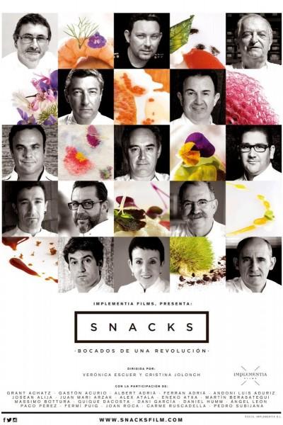 Caratula, cartel, poster o portada de Snacks, bocados de una revolución