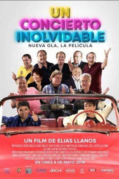 Caratula, cartel, poster o portada de Un concierto inolvidable: Nueva Ola, la película