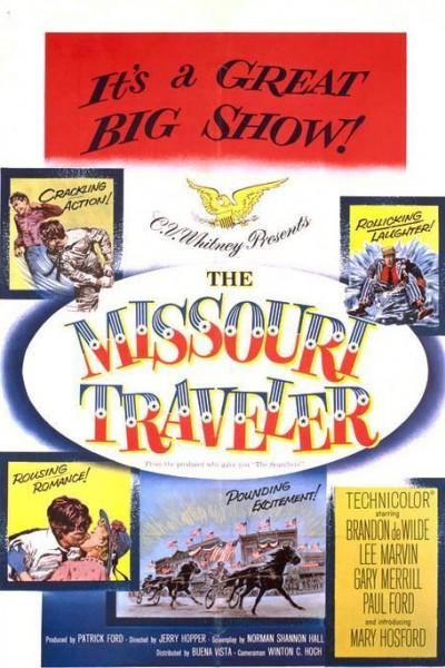 Caratula, cartel, poster o portada de El viajero de Missouri