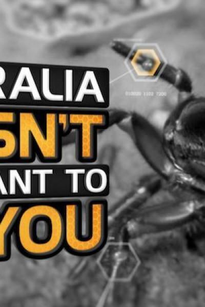 Caratula, cartel, poster o portada de Australia, tierra de contrastes