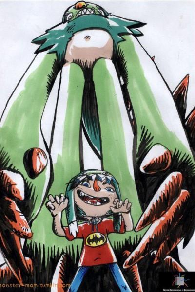Caratula, cartel, poster o portada de Mamá monstruo