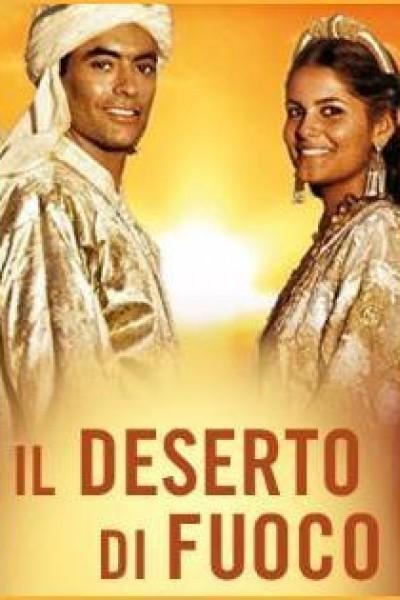 Caratula, cartel, poster o portada de El desierto de fuego