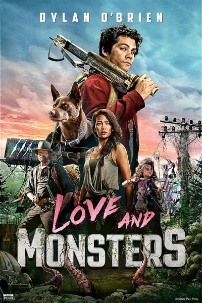 Caratula, cartel, poster o portada de De amor y monstruos