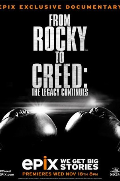 Caratula, cartel, poster o portada de From Rocky to Creed: The Legacy Continues