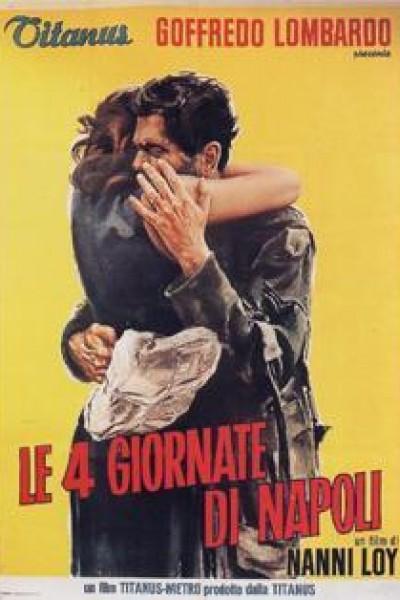 Caratula, cartel, poster o portada de Los cuatro días de Nápoles