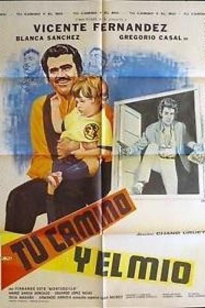 Caratula, cartel, poster o portada de Tu camino y el mio