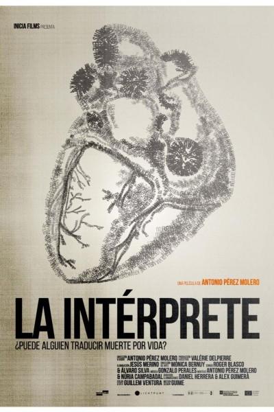 Caratula, cartel, poster o portada de La intérprete